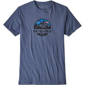 Patagonia Fitz Roy Scope Organic - T-shirt manches courtes Homme - bleu